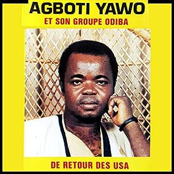 Agboti Yawo de retour des USA