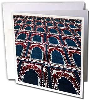 3dRose Pattern of Prayer Rugs Islamic Mosque Cairo Egypt-AF14 AJE0030 Adam Jones Greeting Cards, Set of 6 (gc_74155_1)