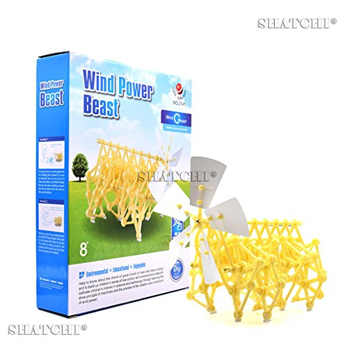 Gifts 4 All Occasions Limited SHATCHI-1397 Animaris Ordis Parvus Walking Walker Robot Mini Strandbeest fai da te modello giocattolo educativo per bambini