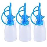 6 Pz/Pacco 30 ML Plastica Bottiglia di Spremere Puntali con Bottiglie di Ago Punta Multiuso Olio per Colla Industriale Olio Vuoto Bottiglia Jet Dispenser