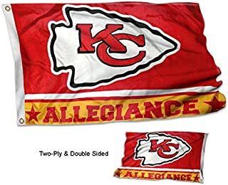 WinCraft Kansas City Chiefs Double Sided Allegiance Flag