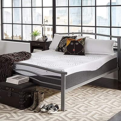 Simmons Beautyrest ComforPedic from Beautyrest Choose Your Comfort 14-inch NRGel Memory Foam Mattress - White Plush Twin
