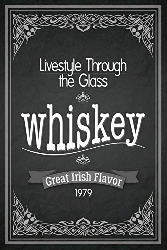 Metalen bord Lifestyle Through The Glass Whisky Whiskey 1979 metalen bord in sign decoratie