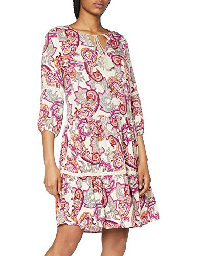 comma Damen 87.005.82.5829 Kleid, 40A2 Light pink AOP, 40