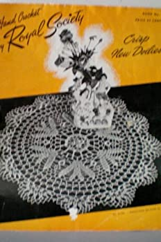Kitchen Hand Crochet by Royal Society Crisp New Doilies Book No. 9 Book