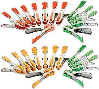 Probache - Pinces à Linge X24 INOX incassables révolution avec Crochets Clips de Suspension