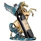 qazwsx Sculpture Ornements pour saloncréatif Pegasus casier à vin décoration décoration de la Maison Salon européen Armoire à vin décoration décoration Cadeau