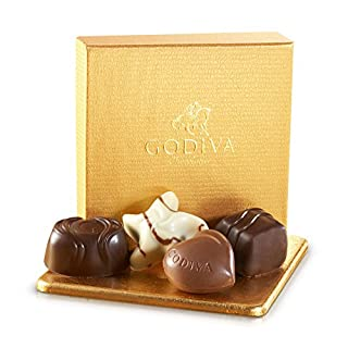 Godiva Chocolatier Assorted Chocolate Truffles Gold Ballotin Favor Gift Box, 4 pc. (B000GGXEEW) | Amazon price tracker / tracking, Amazon price history charts, Amazon price watches, Amazon price drop alerts