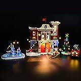 Kit di Illuminazione A LED per Lego Creator Winter Village Fire Station,Compatibile con Il Modello Lego 10263 Mattoncini da Costruzioni - Non Incluso nel Modello