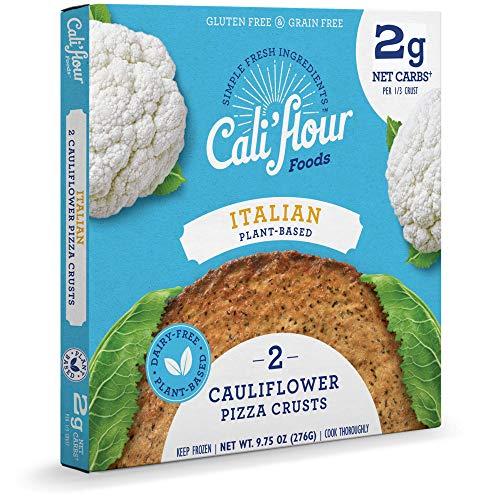 Cali'flour Cauliflower Pizza Crust, 2 ct (Frozen)