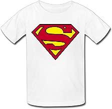 Superman Logo Youth's T-Shirt White