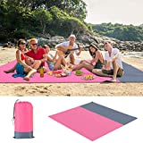 Haokaini Sand Free Beach Blanket Waterproof Beach Mat Outdoor Picnic mat for Camping