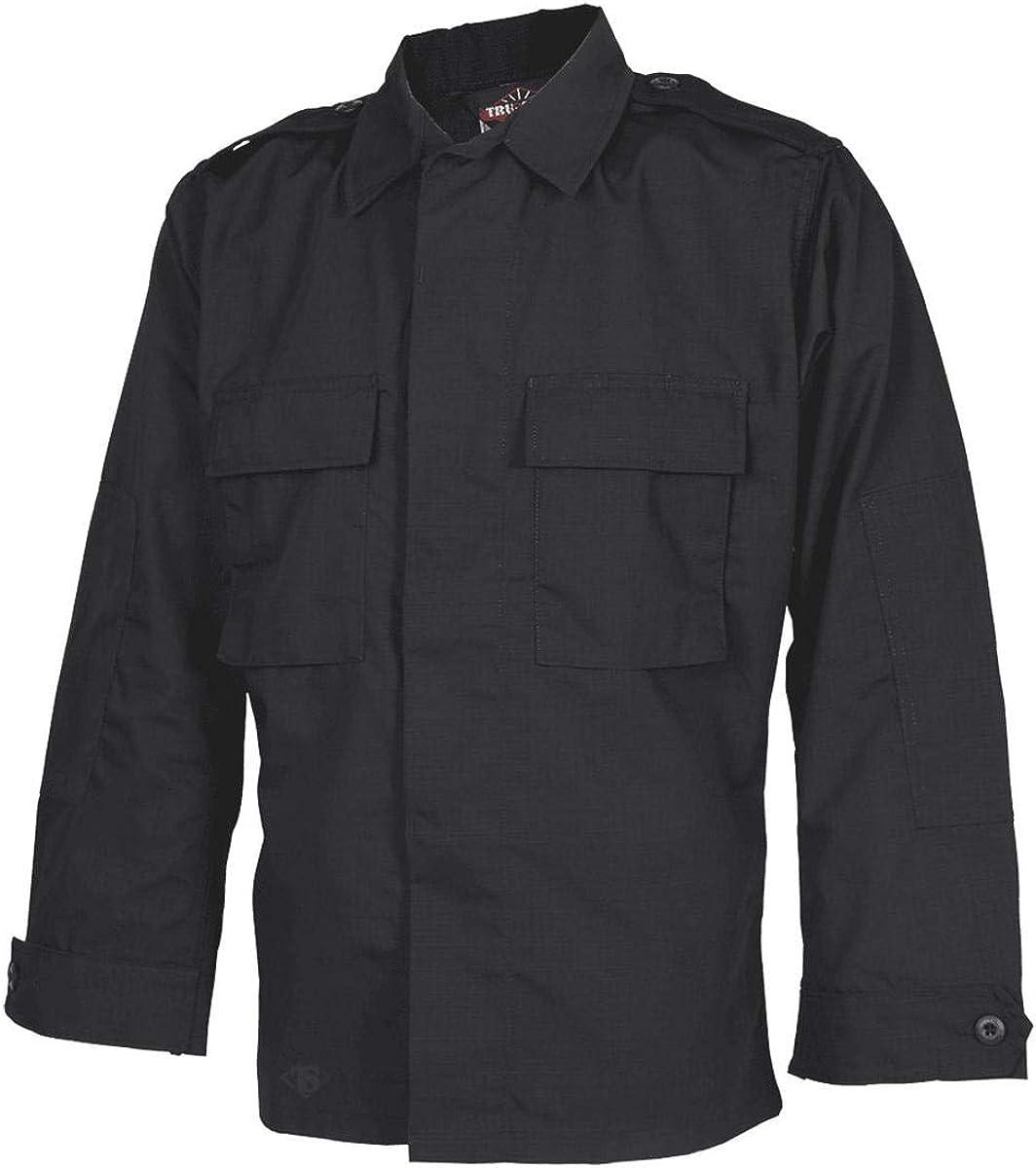 Tru-Spec Long-Sleeve Tactical Shirt Cheap SALE Start Poly-Cotton Ripstop M- Beauty products Black