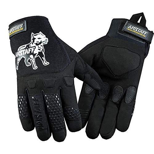 Amstaff Männer Frauen Esan Handschuhe S/M