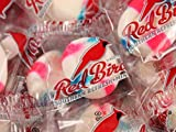 Cotton Candy Flavored Red Bird Puffs WRAPPED Candy Mints - 2 Pounds
