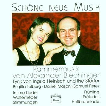 Blechinger: Kammermusik