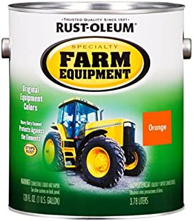 RUST-OLEUM 7458402 Gallon Allis Chalmers Orange Bright Enamel Paint