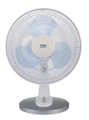 Beko EFT4100W Ventilatore da Tavolo, Bianco