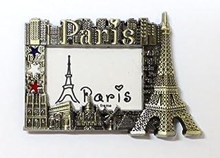 magnet aimant frigo MGD7 cuisine souvenir France Paris cadeaux Tour Eiffel 8,5X8,5 cm