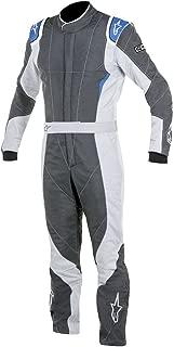 Alpinestars GP PRO Suit (Anthracite/Steel Gray/Blue, Size 54)