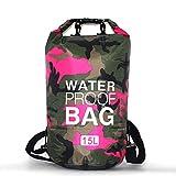 N\P Floating Dry Rucksack, Roll Top Dry Sack, Wassersport Dry Sack Für Outdoor Beach Sack Travel...