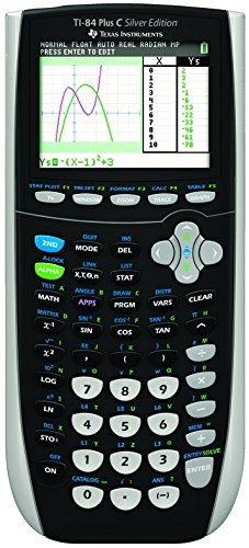 Texas Instruments TI 84 Plus C Silver Edition grafische rekenmachine