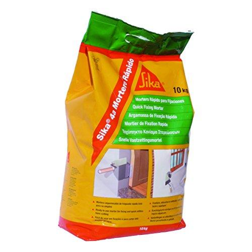 Sika 4A Mortero Rápido, Mortero de fraguado rápido para cortar filtraciones de agua, 10kg, Bolsa