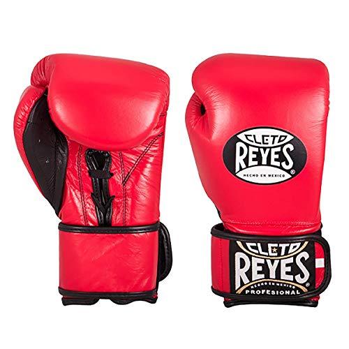 CLETO REYES Hybrid-Handschuhe für Damen und Herren, Klassisches Rot, Medium