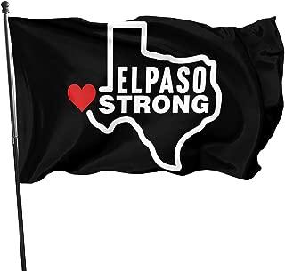 GUOQIANGfaqi El Paso Strong Flag 3' X 5' Ft Outdoor Flags Banner Breeze Flag