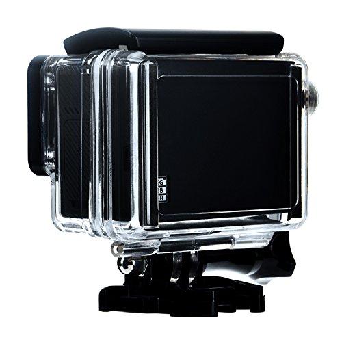 Sametop Waterproof BacPac Backdoor Compatible with GoPro Hero4 Black, Hero4 Silver, Hero3+ Cameras Standard Housing