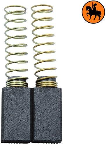 Buildalot Specialty koolborstels ca-04-58139 voor AEG boormachine B2E13-5x8x14 mm - met veren - vervanging voor originele onderdelen 4.931.301.871, 4.931.301.872, 4.931.306.842, 4.931.361.733 & 4.931.392.597