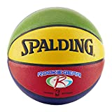 Spalding NBA Rookie Gear Multi Color Youth Indoor/Outdoor Basketball