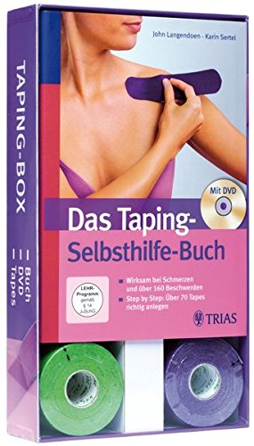 Taping-Box (Buch + DVD + Tape-Rollen): Die Taping-Box: alles in einem