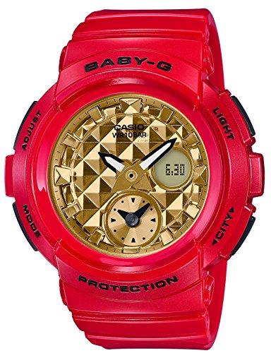 [カシオ] 腕時計 ベビージー BGA-195VLA-4AJF レディース レッド