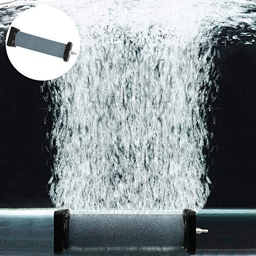 TANCUDER Luft Steine Aquarium Ausströmstein ASC-887 Luftstein Diffusor Schwarz Air Stone Diffusor Luft Ausströmer Zylinder Belüftungszylinder für Süßwasser, Meerwasseraquarien und Hydrokultur