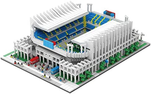 high quality NeoLeo Micro Block Architecture Model sale Malaga outlet sale Football Field Spain, Challenge for Adults Children, Modern Architecture Soccer Building Model Kits, 4685 Pieces outlet online sale