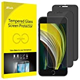 JETech Privacy Screen Protector for iPhone SE 2nd Generation, iPhone 8 and iPhone 7, Anti-Spy Tempered Glass Film, 2-Pack