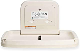 Koala Kare KB20000 Horizontal Baby Changing Station, 35 3/16 x 22 1/4, Cream