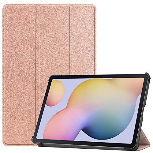 Lobwerk Hulle fur Samsung Galaxy Tab S7 SM T870 T875 Smart Cover Etui mit Standfunktion und Auto SleepWake Funktion Bronze