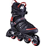 K2 Skates Herren Inline Skate F.I.T. 84 Speed Alu - black - red - EU: 46 (UK: 11 / US: 12) - 30D0260