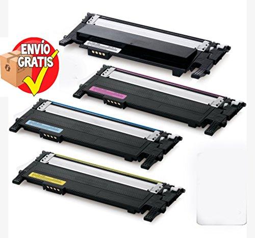 ENTREGA GRATIS 24/48h - SAMS TONER PACK 4 UNIDADES Reciclado CLP315 Negro (1.500 Páginas) CLP315 Cyan (1.000 Páginas) CLP315 Amarillo (1.000 Páginas) CLP315 Magenta (1.000 Páginas) para CLP310 Series / CLP315 Series / CLX 3170FN / CLX 3170N / CLX 3175 / CLX 3175FN / CLX 3175FW / CLX 3175N ALTA CALIDAD