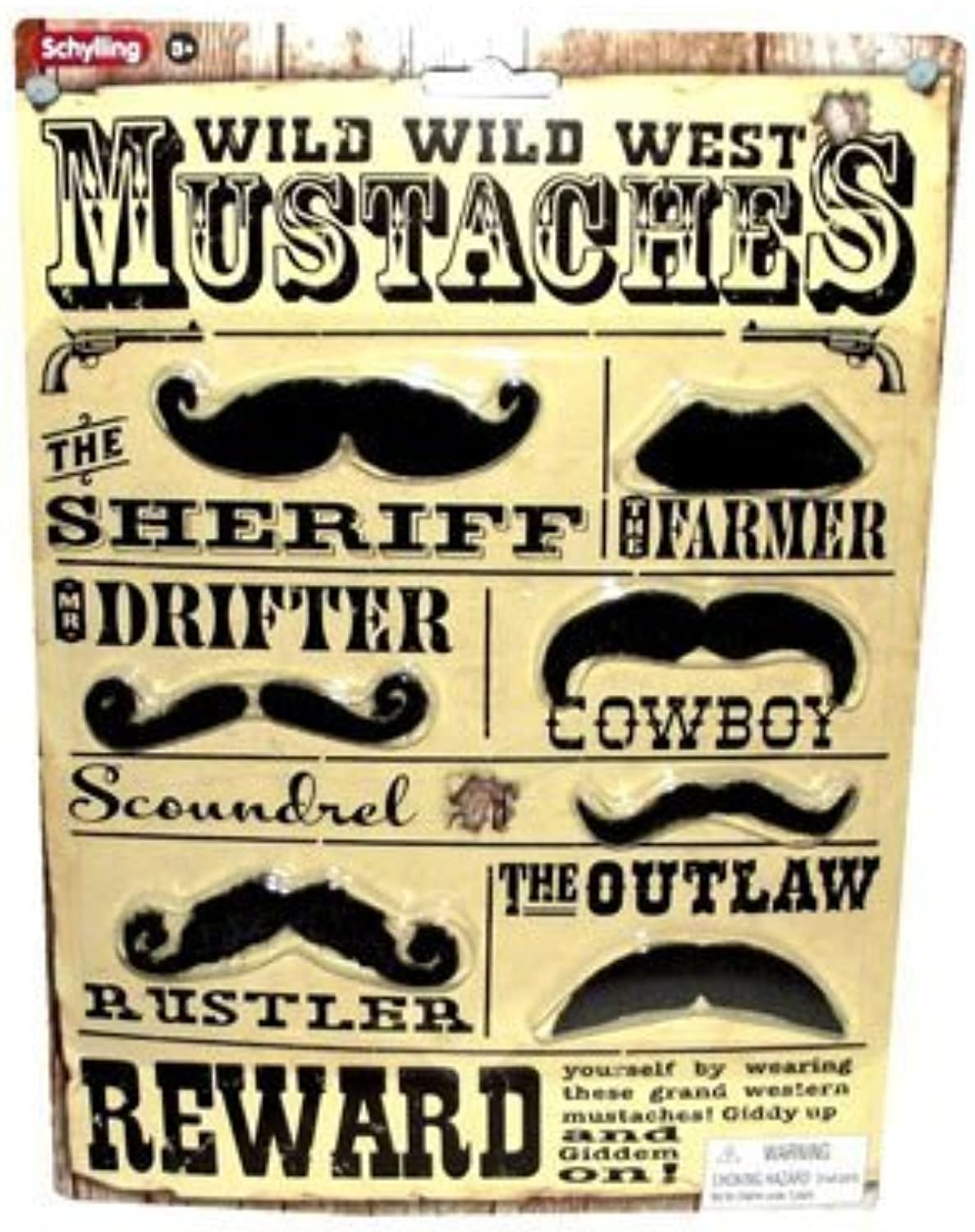 Schylling Western Mustaches by Schylling