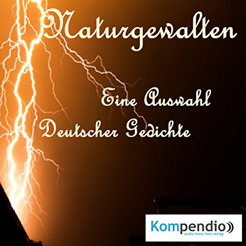 Naturgewalten in der deutschen Lyrik audiobook cover art