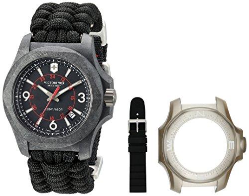 Victorinox Relógio masculino Swiss Army I.N.O.X, I.N.O.X. Paracord de carbono, I.N.O.X. masculino
