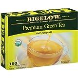 Bigelow Premium Organic Green Tea - 160 ct.-SET OF 2
