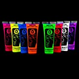 Best Glow In The Dark Body Paints - UV Glow Blacklight Face and Body Paint 0.68oz Review