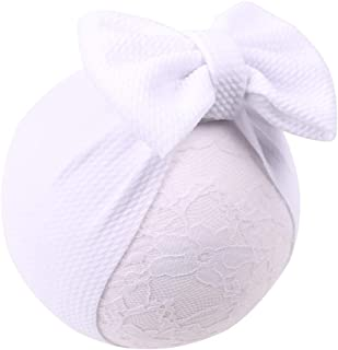 Baby5'' Large Bows Headwrap Stretch Textured Fabric Top Knot Turban Headband Hair Accessories