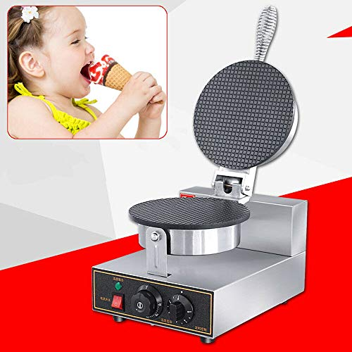 Buy WINUS 110V Electric Ice Cream Waffle Maker Commercial Stainless Nonstick Ice Cream Waffle Cone Maker Baker Machine for Restaurant Bakeries US Stock