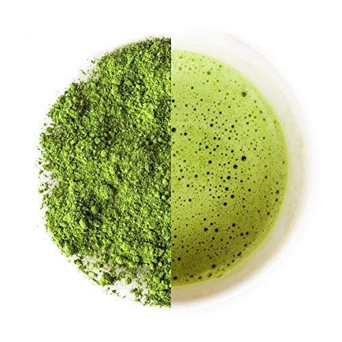 Organic Matcha Pulver Tee - CEREMONIAL GRADE - Green Tea powder aus der Uji Region Japan - frisch kraftvoll & cremig (30g)