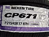Nexen CP671 H All-Season Radial Tire - P215/45R17
